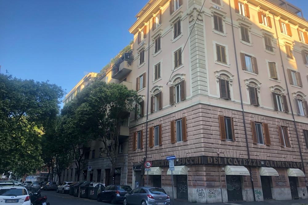 Piazzale Flaminio Via degli Scialoja